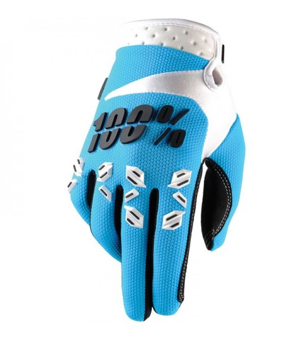 100% Gloves AIRMATIC Blue