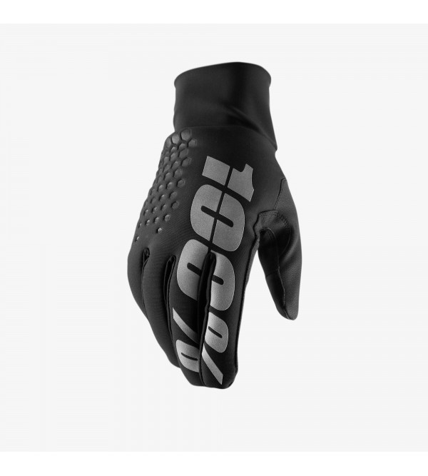 100% Gloves Hydromatic Brisker Black