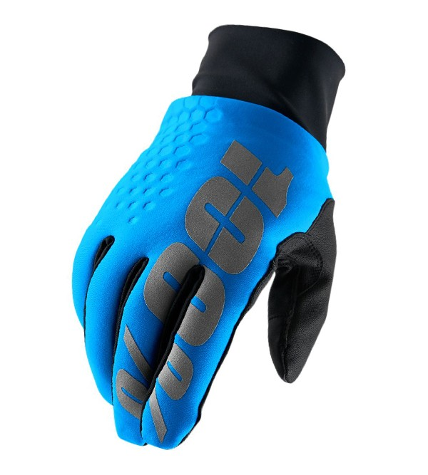 100% Gloves Hydromatic Brisker Blue