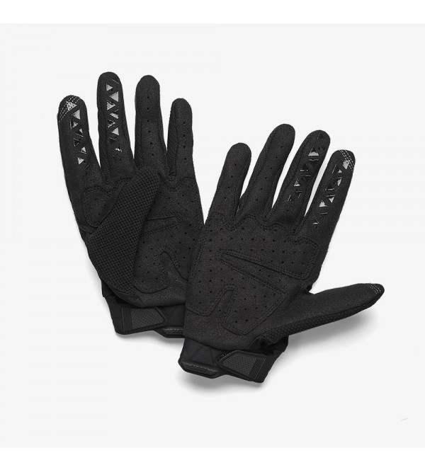 100% Gloves AIRMATIC Black/Chacoral