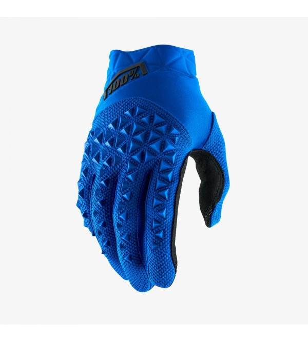 100% Gloves AIRMATIC Blue/Black
