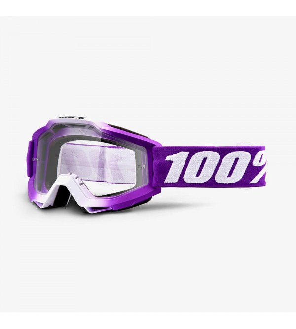 100% Goggles ACCURI Youth Frambroise - Mirror Red Lens
