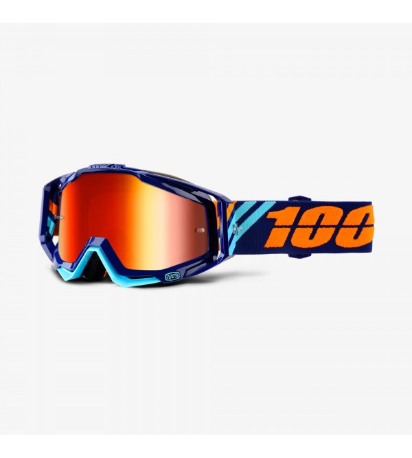 100% Brilles RACECRAFT Calculus Navy-Stikls Spogu�...