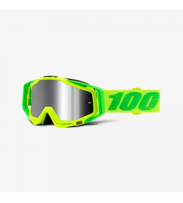 100% Goggles RACECRAFT PLUS Sour Soul-Lens Mirror ...