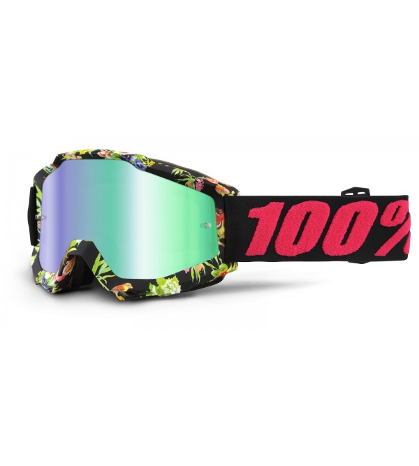 100% Goggles ACCURI Chapter 11-Lens Mirror Green
