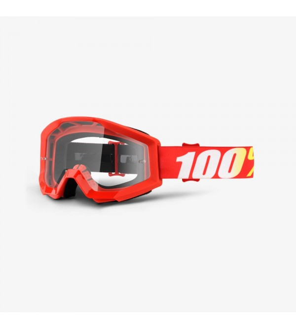 100% Goggles STRATA Furnace - Clear Lens