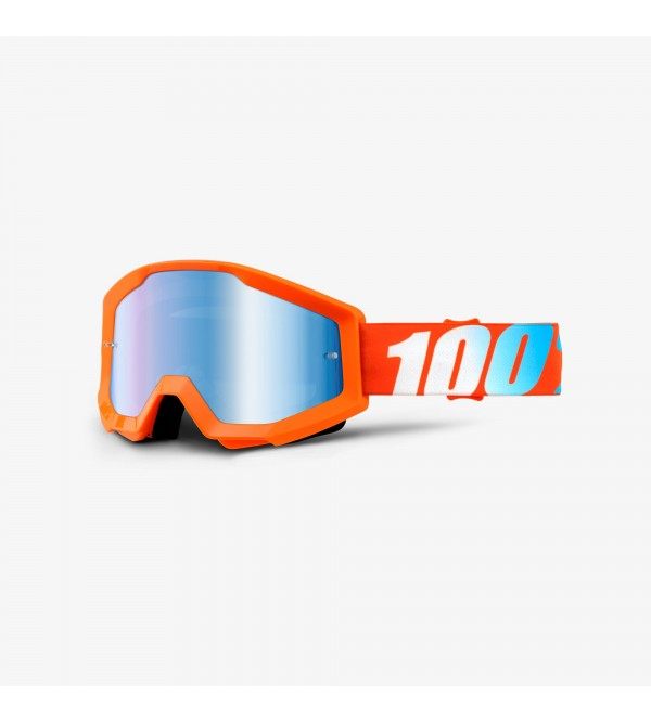 100% Brilles STRATA Orange-Stikls Spoguļzils