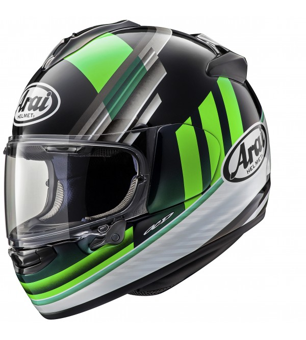 ARAI aizsargķivere Chaser-X Fence Green