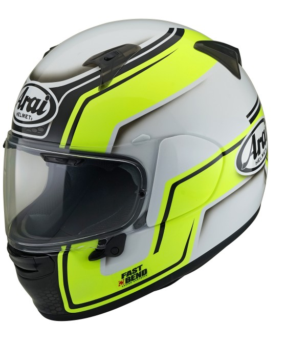 ARAI helmet Profile-V Bend Yellow
