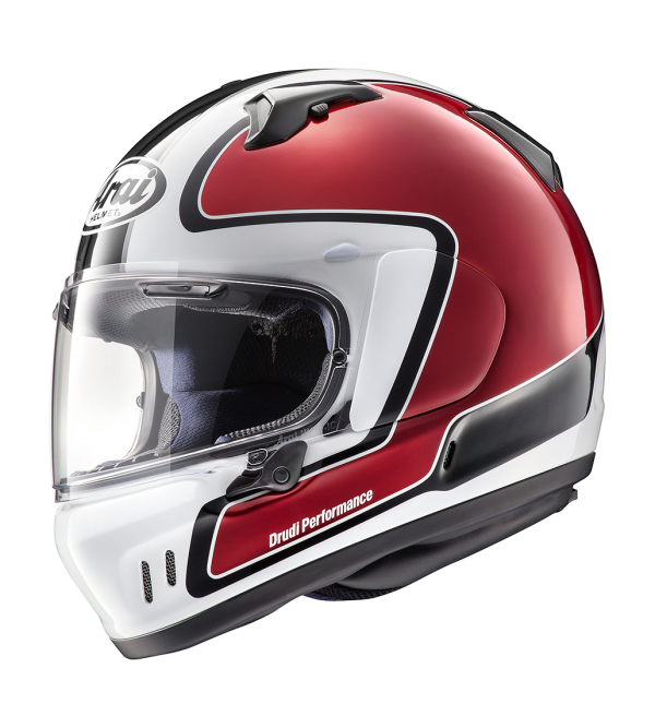 ARAI Helmet RENEGADE-V Outline Red