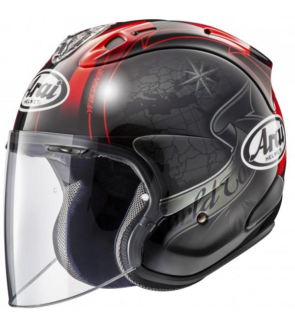 ARAI helmet SZ-R VAS Harada Tour Black
