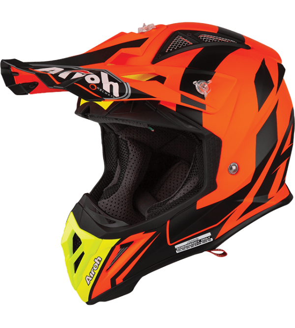 Airoh Helmet Aviator 2.3 AMSS Bigger Orange matt