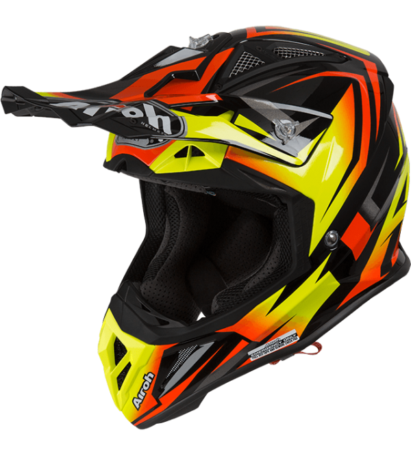 Airoh Helmet Aviator 2.3 AMSS Fame Orange