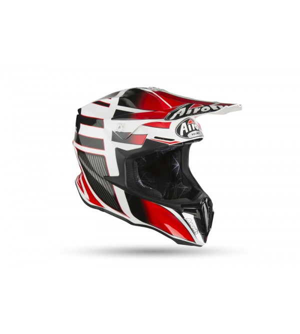 Airoh Helmet Twist SHADING red gloss