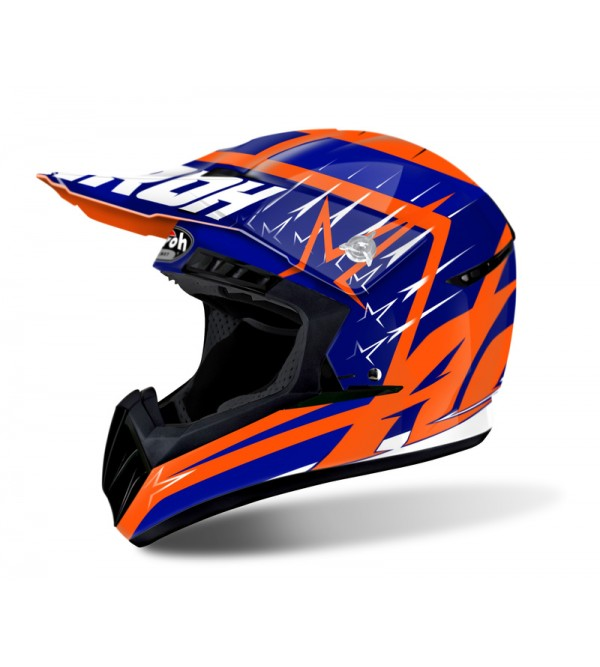 Airoh Helmet Switch Startruck blue gloss