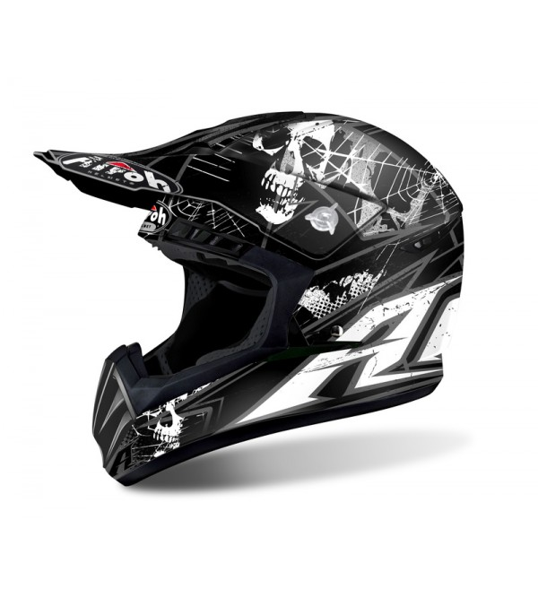 Airoh Helmet Switch Scary black matt