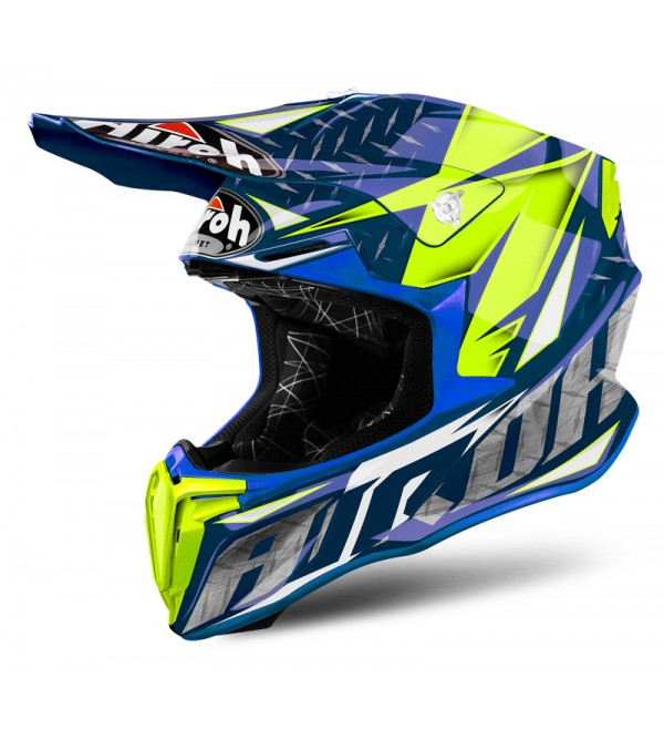 Airoh Helmet Twist Twist Iron blue gloss