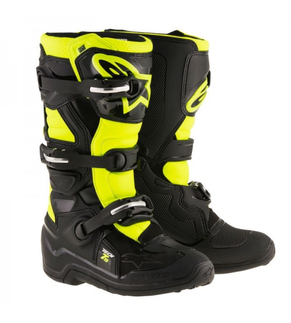 Alpinestars Boots Tech 7s junior Black/Fluo