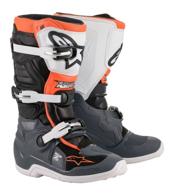 Alpinestars Boots Tech 7s junior Black/Gray/Wht/Or...