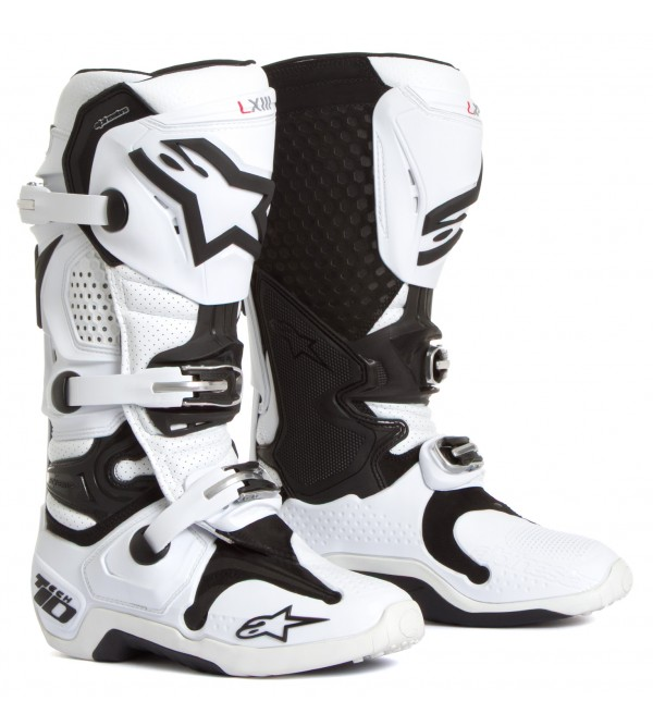 Alpinestars Zābaki Tech 10 VENTED Balti