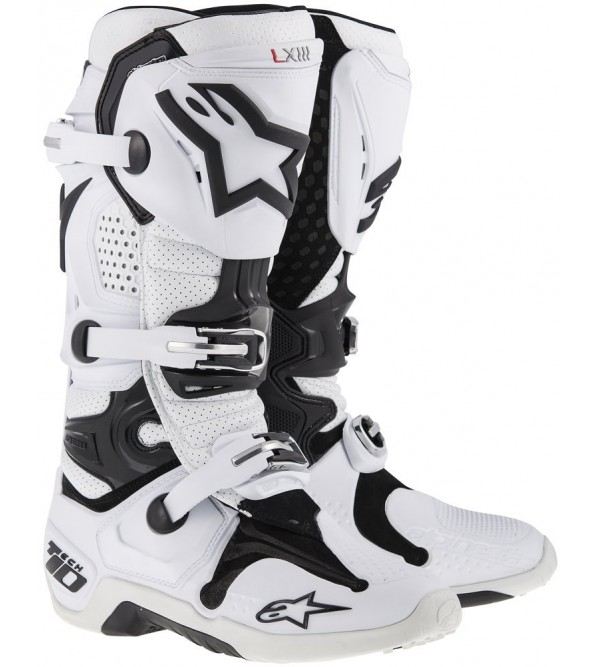 Alpinestars Zābaki Tech 10 Balti
