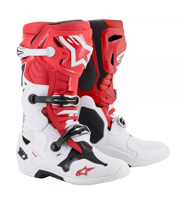 Alpinestars Boots Tech 10 Red White Black