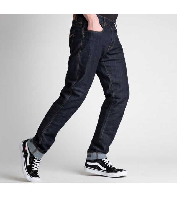 BROGER Mens Jeans California Raw Navy