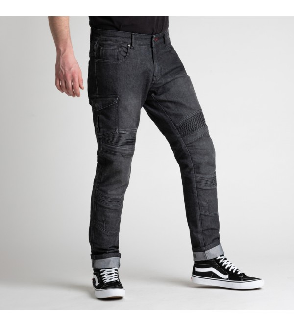 BROGER Mens Jeans Ohio Washed Black