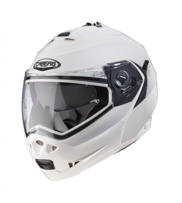 CABERG Helmet DUKE II METAL White