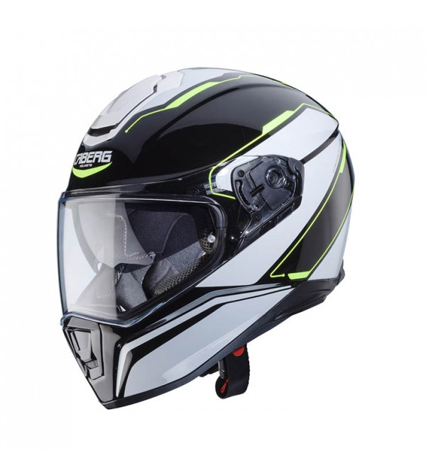 CABERG Helmet DRIFT TOUR BK/WH/YELLOW