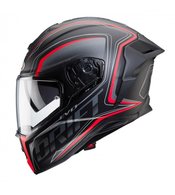 CABERG Helmet DRIFT EVO INTEGRA Black/Anthracite/R...