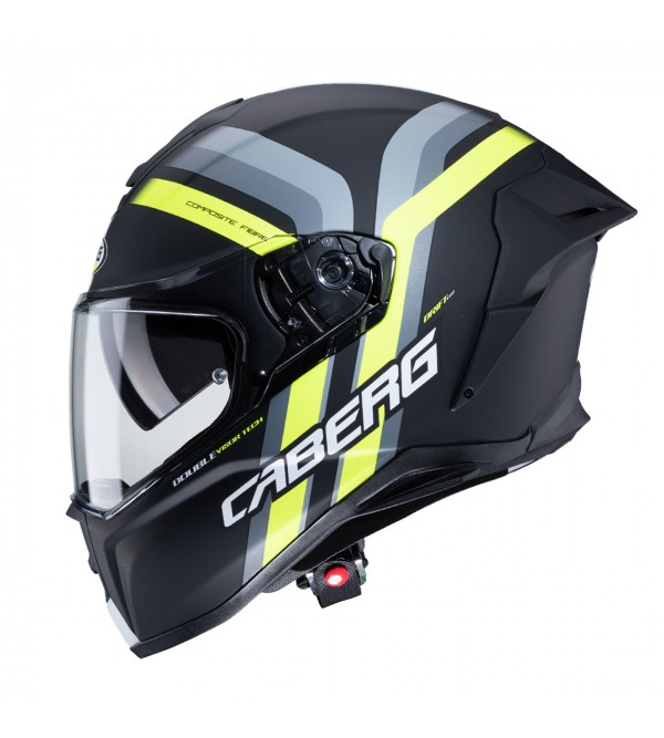 CABERG Helmet DRIFT EVO VERTICAL Black/Yellow Fluo...