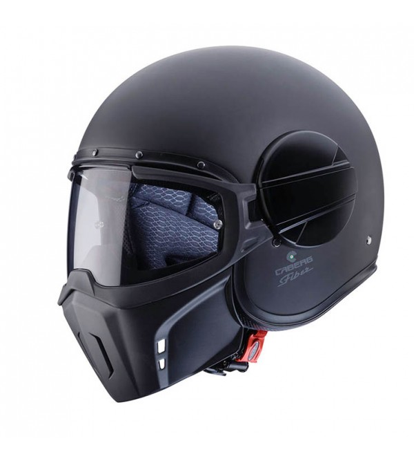 CABERG Helmet  JET GHOST Matt Black