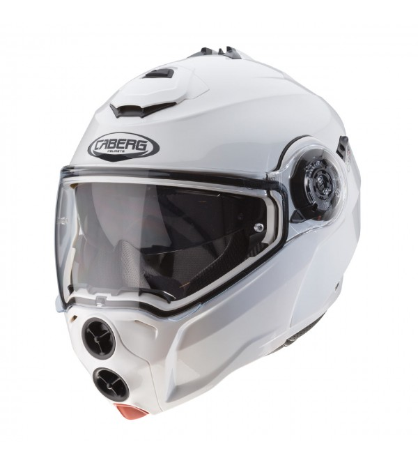 CABERG Helmet DROID METAL White