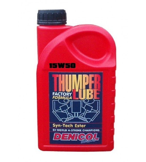 DENICOL THUMPERLUBE15W50 engine oil