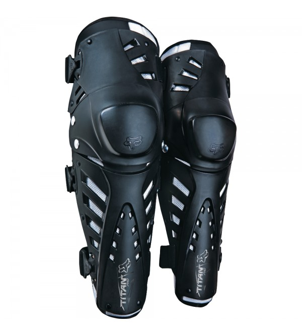 FOX Knee Guards TITAN PRO Black OS