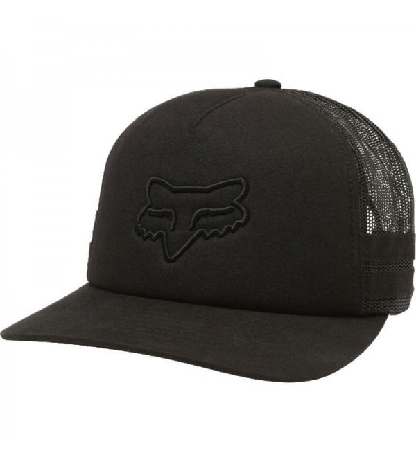 FOX LADY HAT HEAD TRIK BLACK OS