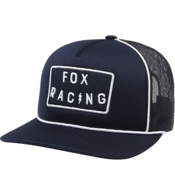 FOX LADY BOLT HAT TRUCKER LIGHT INDIGO OS