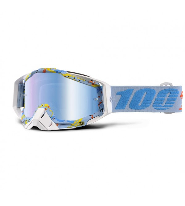 100% RACECRAFT Goggle Hyperloop Blue Lens