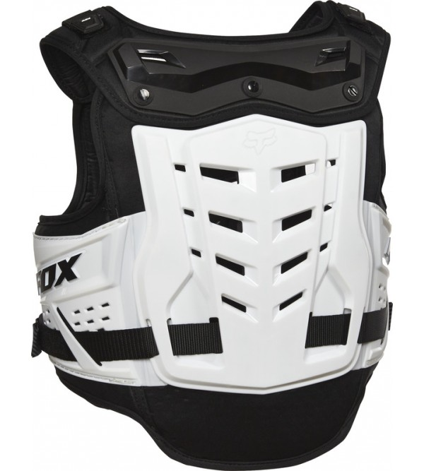 FOX Body Armour  JUNIOR RAPTOR PROFRAME LC CE BLACK/WHITE