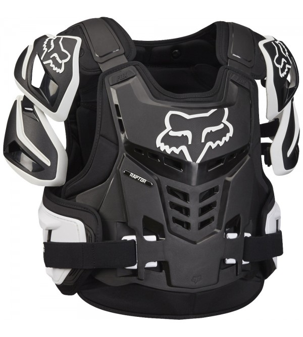 FOX Body Armour Adult Raptor BLACK/WHITE
