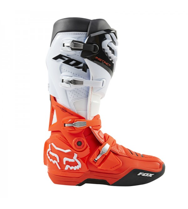 FOX MX Boots INSTINCT Black White Orange