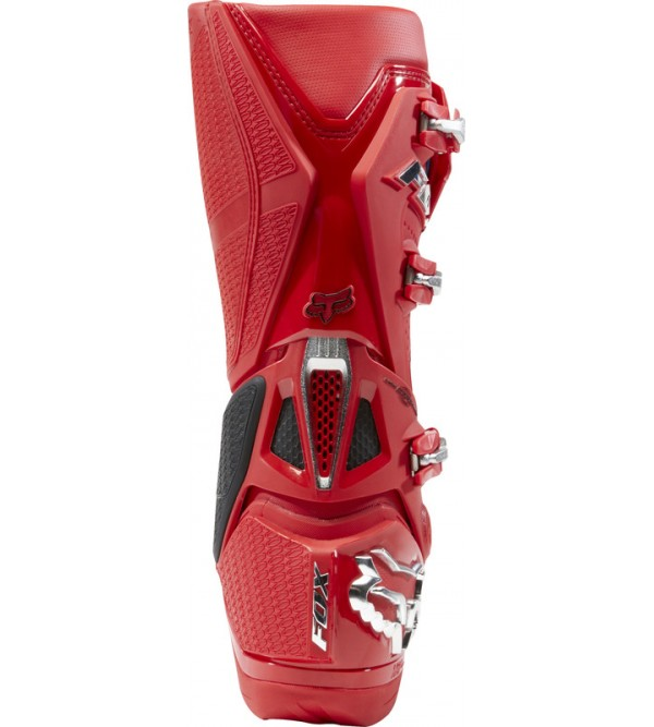 FOX MX Boots INSTINCT Prey Flame Red