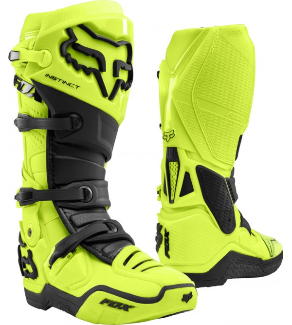 FOX MX Boots INSTINCT Flo Yellow