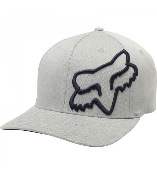 FOX Hat CLOUDED FLEXFIT GREY