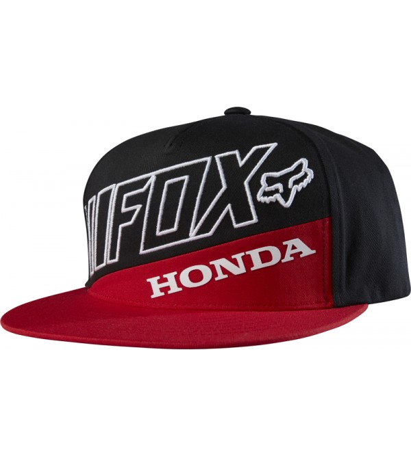 FOX Hat HONDA PREMIUM Red/Black OS