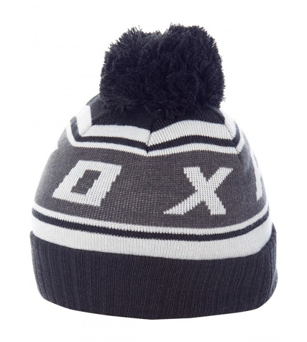 FOX cepure BLACK DIAMOND POM BLK