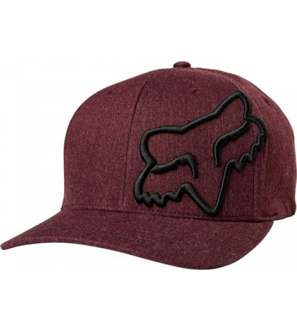 FOX Hat CLOUDED FLEXFIT CARDINAL