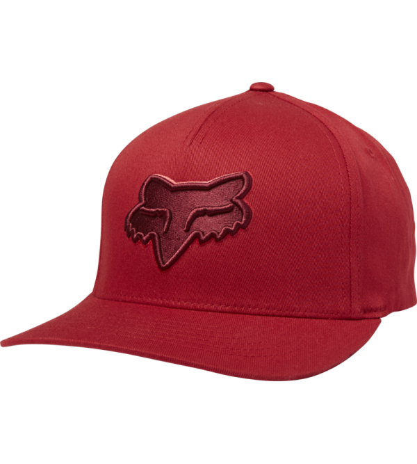 FOX Hat EPICYCLE FLEXFIT DARK RED