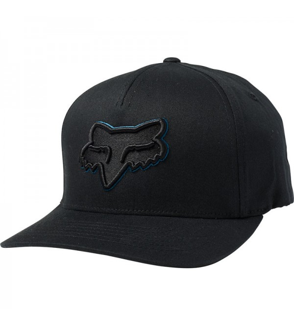 FOX Hat EPICYCLE Flexfit Black/Blue